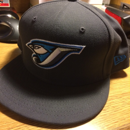 Gray Blue Jays Cap