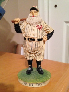 NY Giants Santa