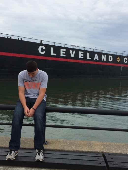 Harry, doing what Cleveland Fans do